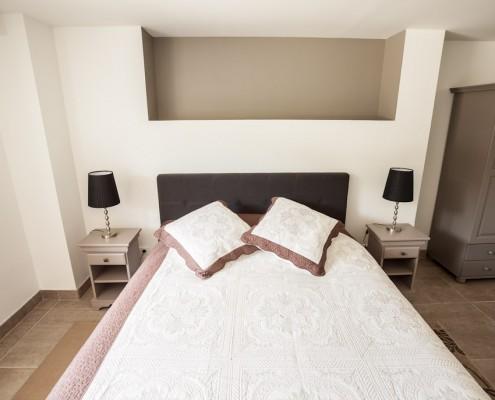 Photo de la chambre de l'appartements à louer dans le médoc