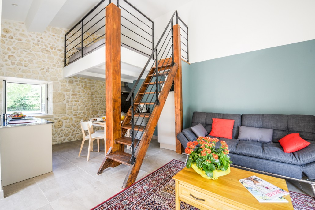 Studio for rent in the heart of the Médoc
