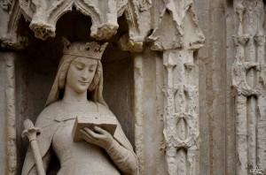 Statue Sainte Radegonde